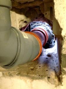 Abwasser Hauseinführungen nach erneuern